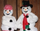 Frosty and Claire